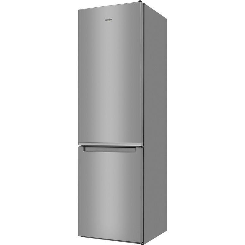 Whirlpool-Combine-refrigerateur-congelateur-Pose-libre-W5-921C-OX-Optic-Inox-2-portes-Perspective