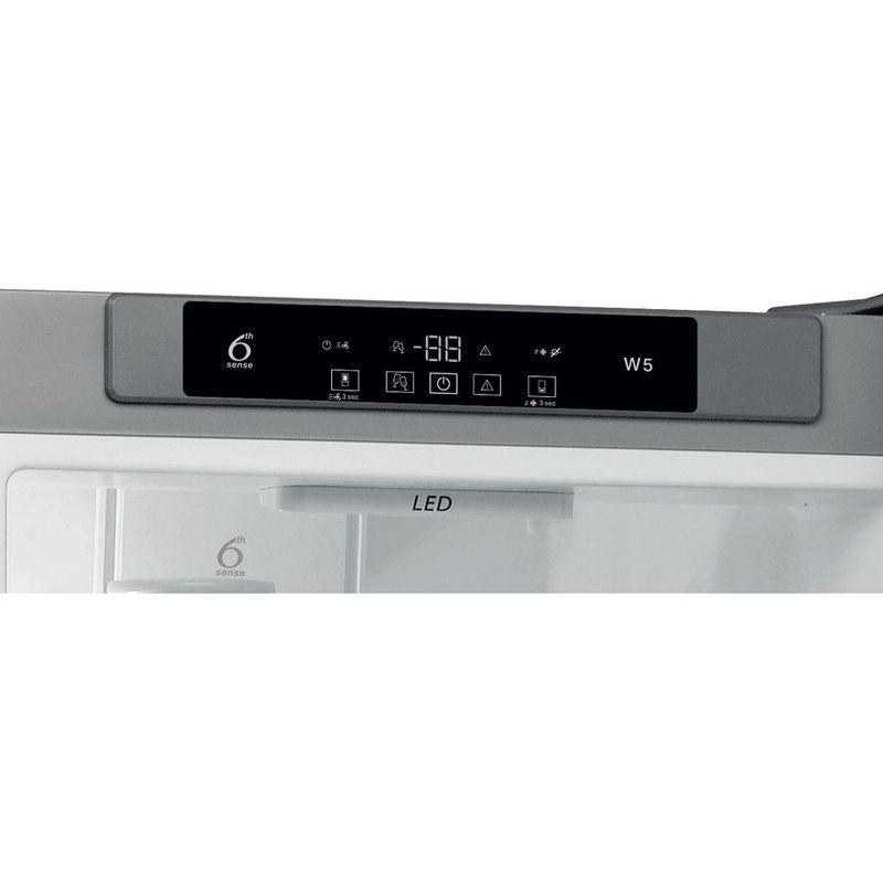 Whirlpool-Combine-refrigerateur-congelateur-Pose-libre-W5-921C-OX-Optic-Inox-2-portes-Control-panel