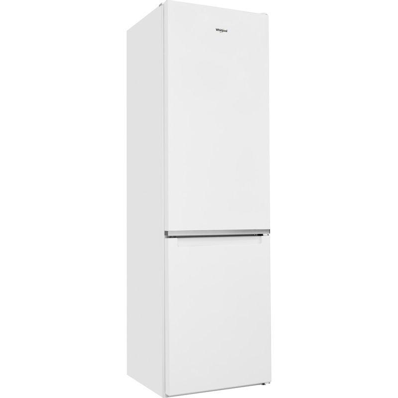 Whirlpool-Combine-refrigerateur-congelateur-Pose-libre-W5-921C-W-Blanc-2-portes-Perspective