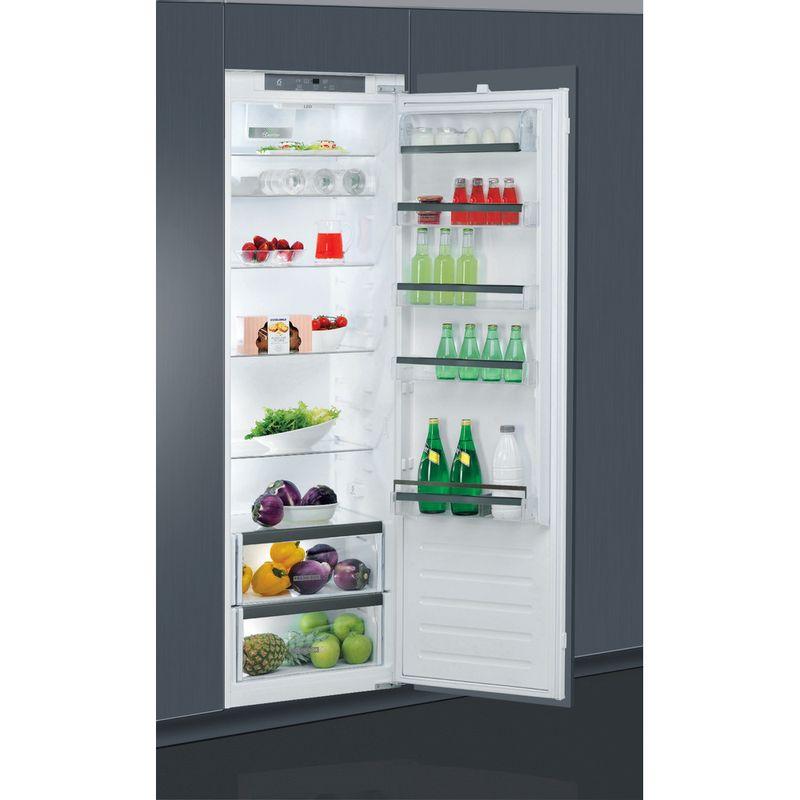 Whirlpool-Refrigerateur-Encastrable-ARG-18081-Blanc-Perspective-open