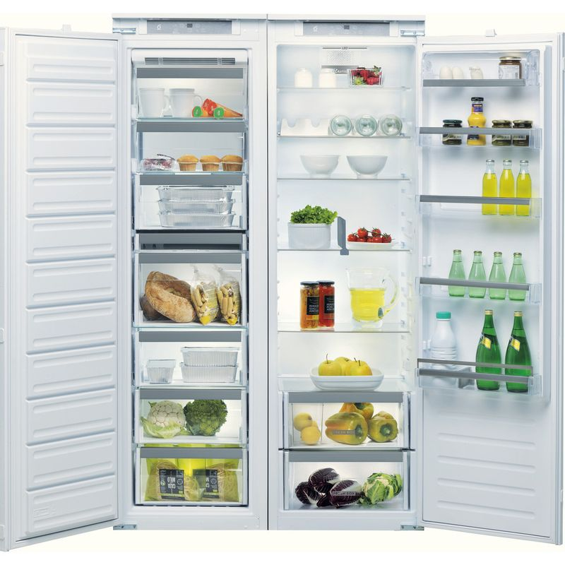 Whirlpool-Refrigerateur-Encastrable-ARG-18081-Blanc-Lifestyle-frontal-open