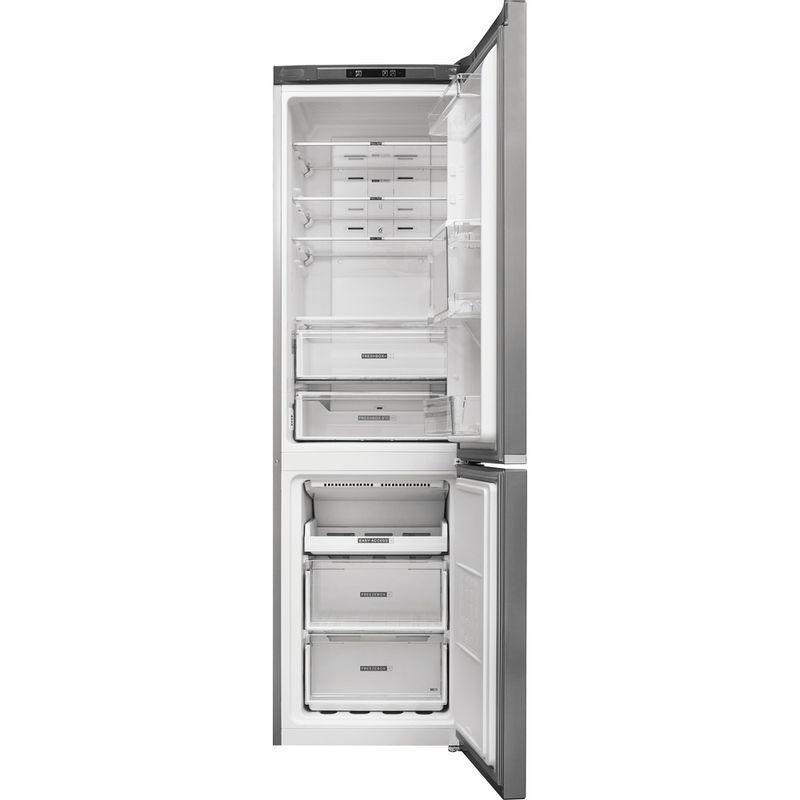Whirlpool-Combine-refrigerateur-congelateur-Pose-libre-W7-911I-OX-AQUA-Optic-Inox-2-portes-Frontal-open