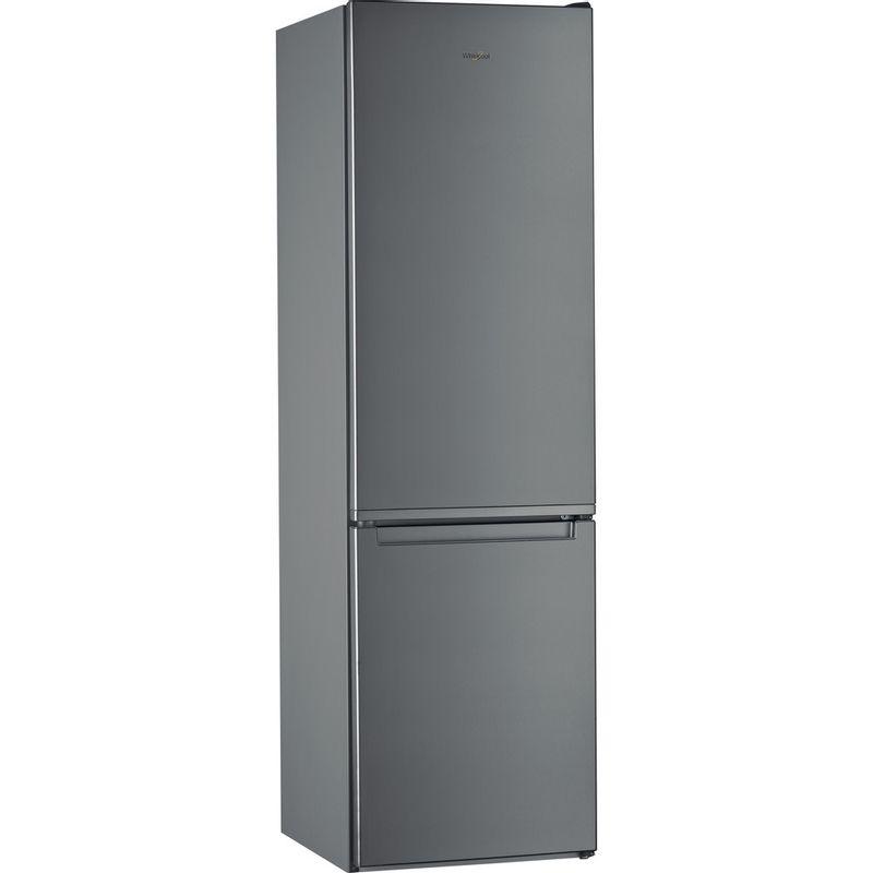 Whirlpool-Combine-refrigerateur-congelateur-Pose-libre-W7-921I-OX-Optic-Inox-2-portes-Perspective