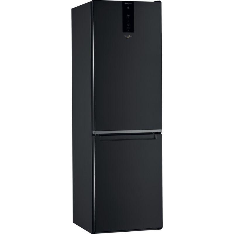 Whirlpool-Combine-refrigerateur-congelateur-Pose-libre-W7-821O-K-Noir-2-portes-Perspective