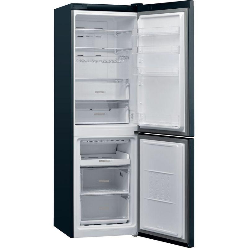 Whirlpool-Combine-refrigerateur-congelateur-Pose-libre-W7-821O-K-Noir-2-portes-Perspective-open
