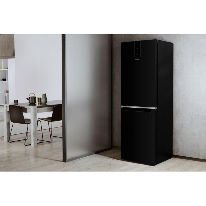 Whirlpool-Combine-refrigerateur-congelateur-Pose-libre-W7-821O-K-Noir-2-portes-Lifestyle-perspective