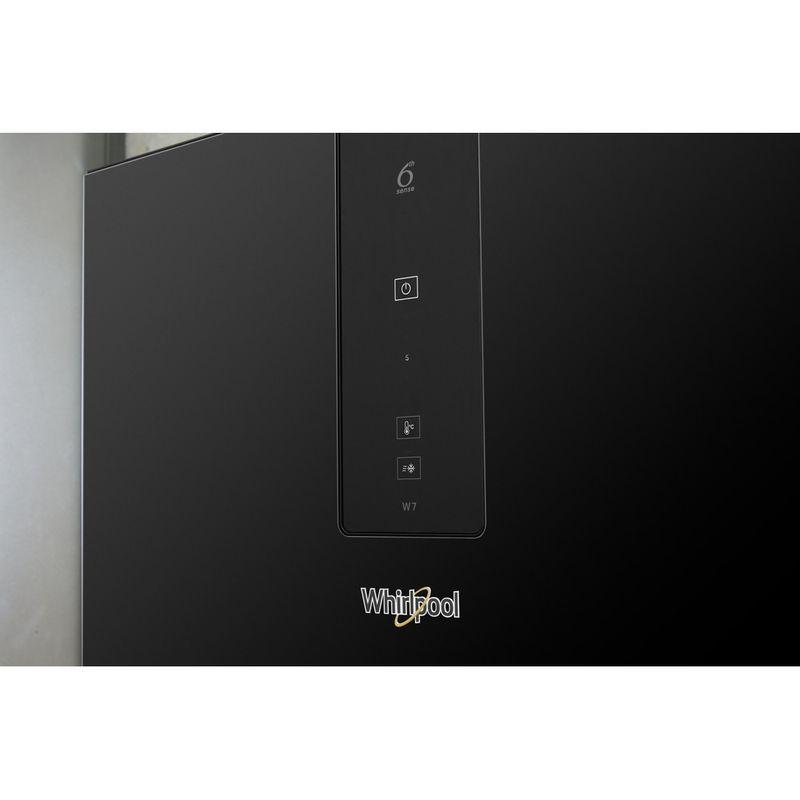 Whirlpool-Combine-refrigerateur-congelateur-Pose-libre-W7-821O-K-Noir-2-portes-Lifestyle-control-panel