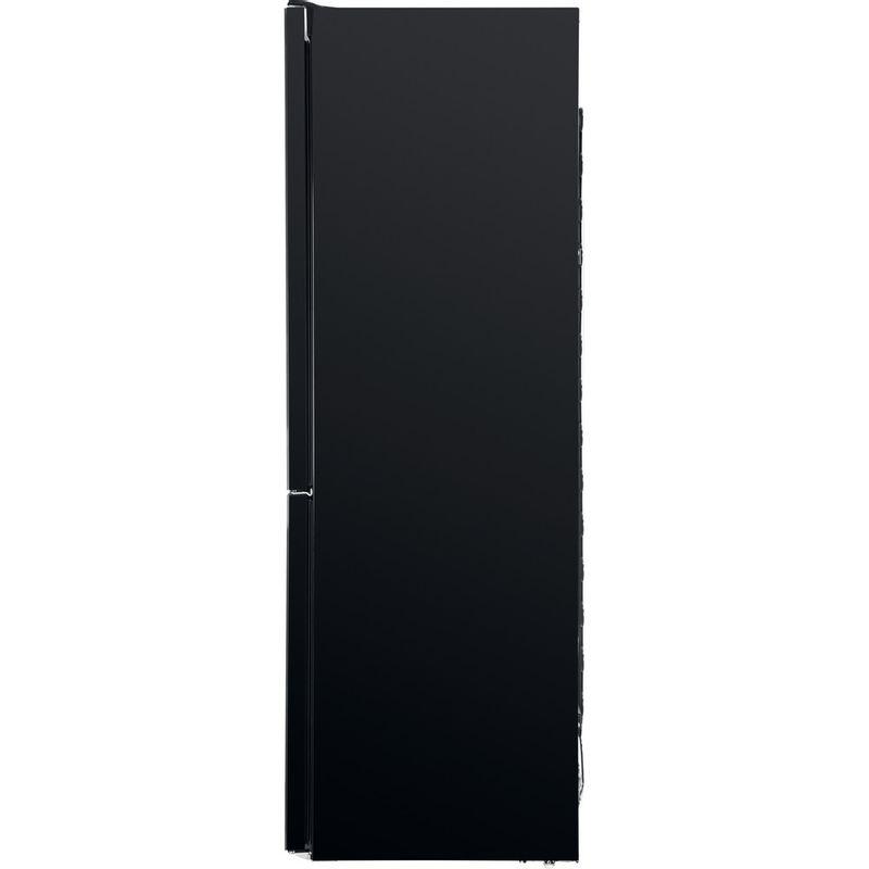 Whirlpool-Combine-refrigerateur-congelateur-Pose-libre-W7-821O-K-Noir-2-portes-Back---Lateral