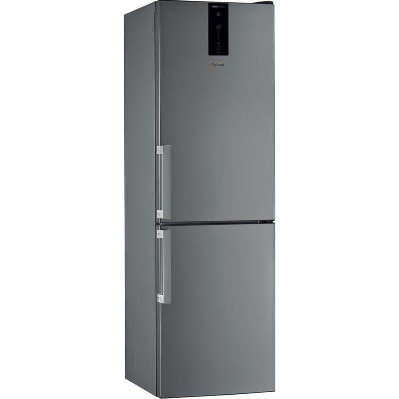 Whirlpool-Combine-refrigerateur-congelateur-Pose-libre-W7-821O-OX-H-Optic-Inox-2-portes-Perspective