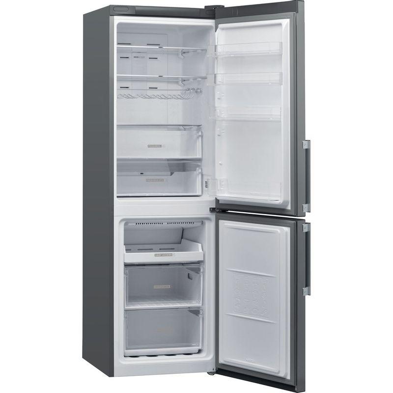 Whirlpool-Combine-refrigerateur-congelateur-Pose-libre-W7-821O-OX-H-Optic-Inox-2-portes-Perspective-open
