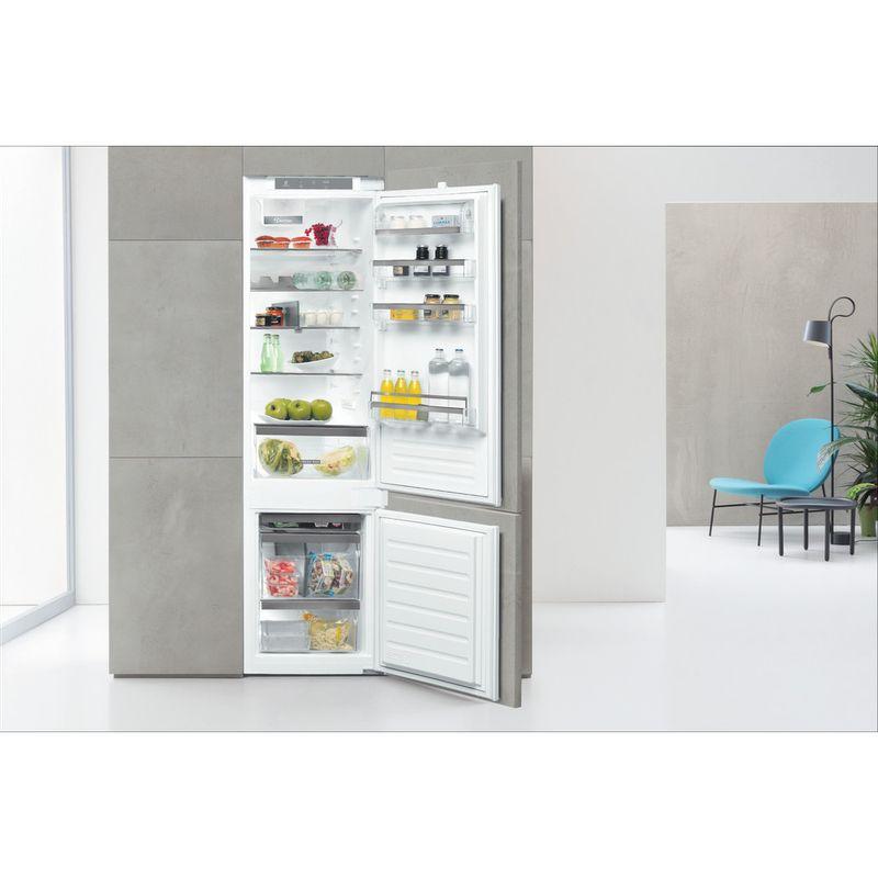 Whirlpool-Combine-refrigerateur-congelateur-Encastrable-ART-9811-SF2-Blanc-2-portes-Lifestyle-frontal-open