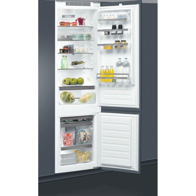 Whirlpool-Combine-refrigerateur-congelateur-Encastrable-ART-9811-SF2-Blanc-2-portes-Drawer