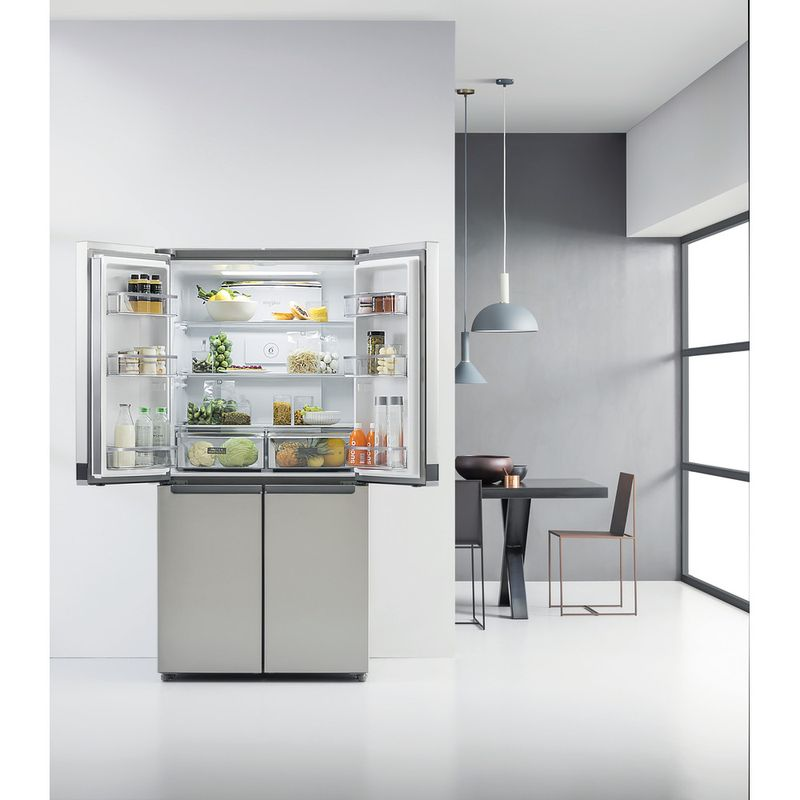 Whirlpool-Americain-Pose-libre-WQ9-E1L-Inox-Lifestyle-frontal-open