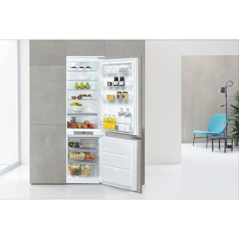 Whirlpool-Combine-refrigerateur-congelateur-Encastrable-ART-890-A---NF-Blanc-2-portes-Lifestyle-frontal-open