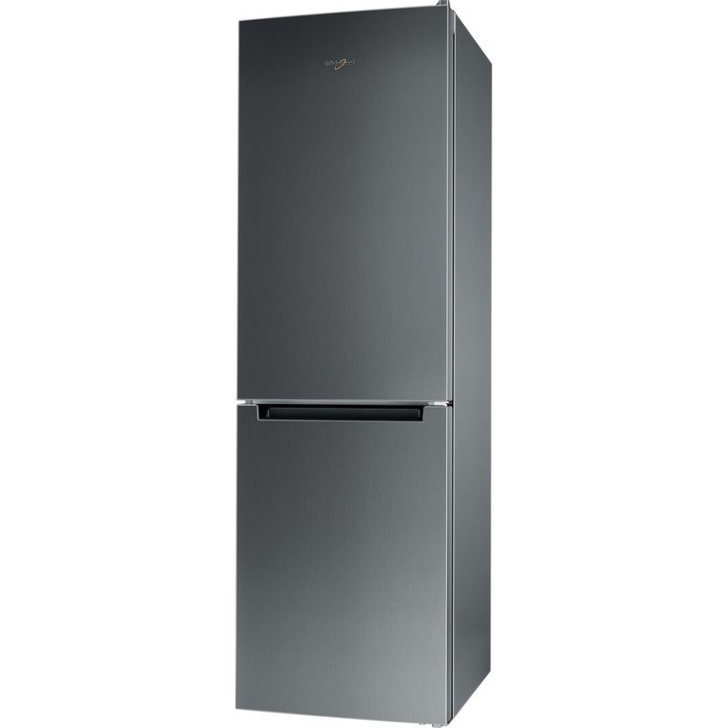 Whirlpool-Combine-refrigerateur-congelateur-Pose-libre-WFNF-81E-OX-1-Optic-Inox-2-portes-Perspective