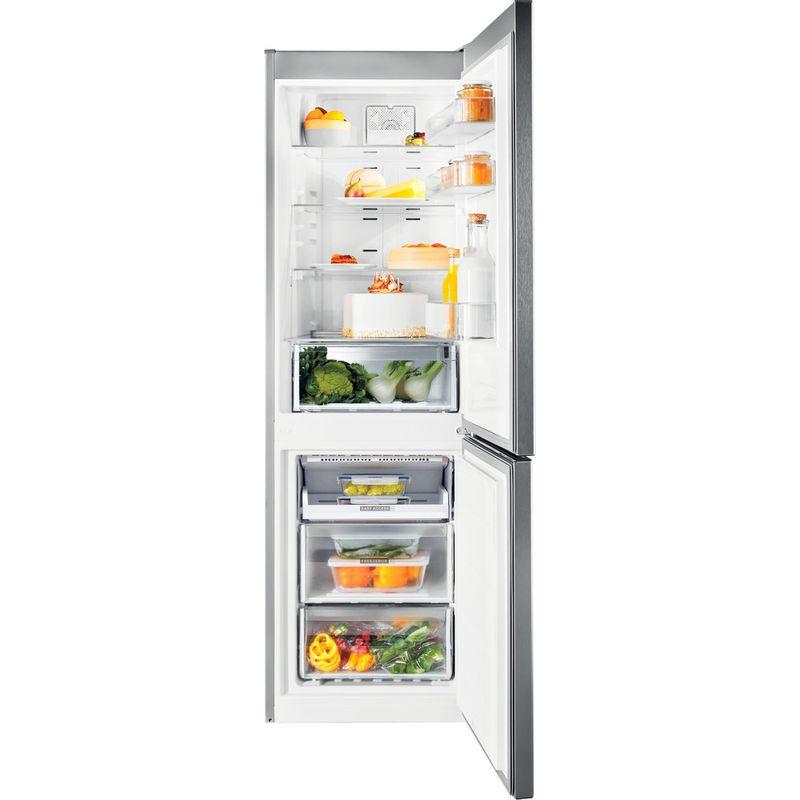 Whirlpool-Combine-refrigerateur-congelateur-Pose-libre-WFNF-81E-OX-1-Optic-Inox-2-portes-Frontal-open