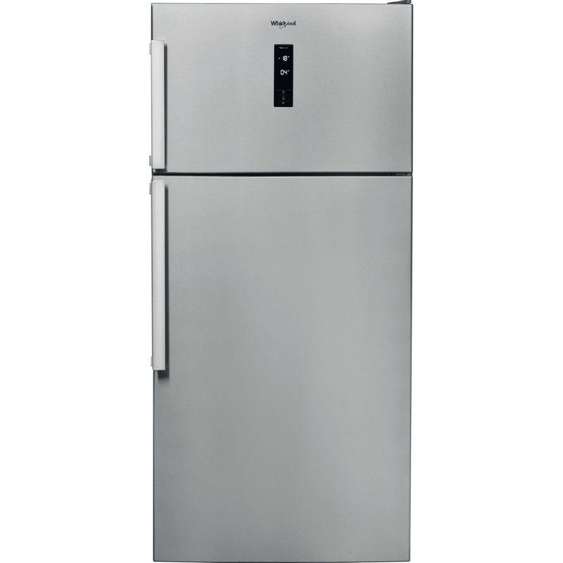 Whirlpool-Combine-refrigerateur-congelateur-Pose-libre-W84TE-72-X-2-Inox-2-portes-Frontal