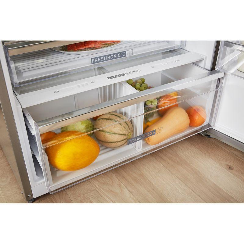 Whirlpool-Combine-refrigerateur-congelateur-Pose-libre-W84TE-72-X-2-Inox-2-portes-Drawer