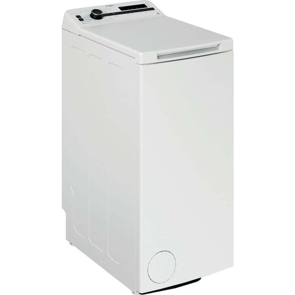 Whirlpool Lave-linge posable TDLR 72223SS FR/N : consultez les spécificités de votre appareil et découvrez toutes ses fonctions innovantes pour votre famille et votre maison.