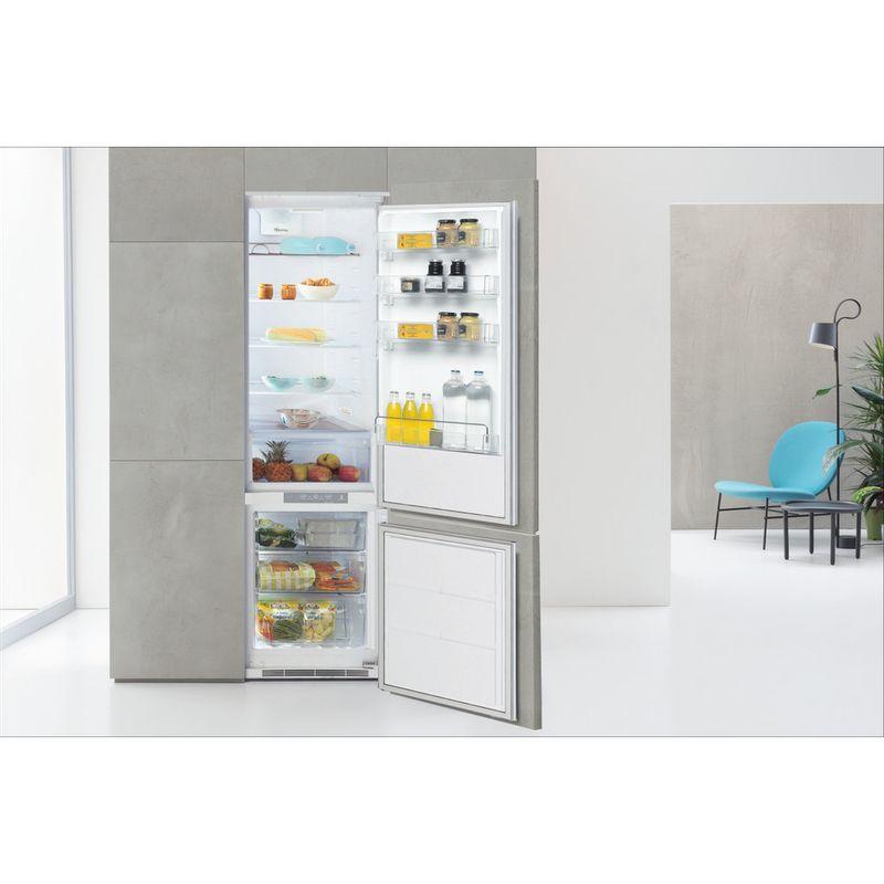 Whirlpool-Combine-refrigerateur-congelateur-Encastrable-ART-9620-A--NF-Blanc-2-portes-Lifestyle-frontal-open