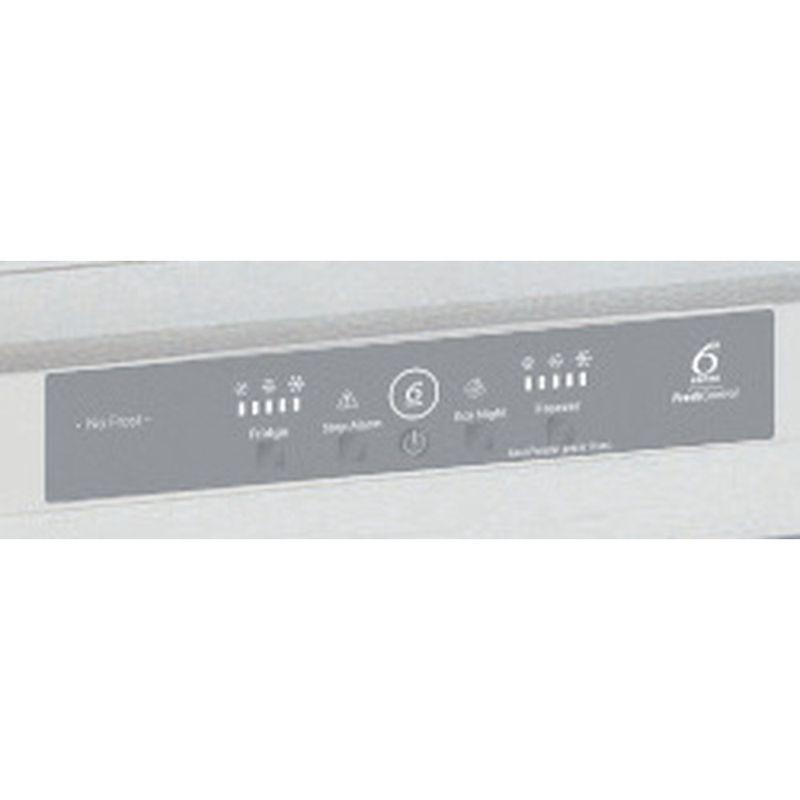 Whirlpool-Combine-refrigerateur-congelateur-Encastrable-ART-9620-A--NF-Blanc-2-portes-Control-panel