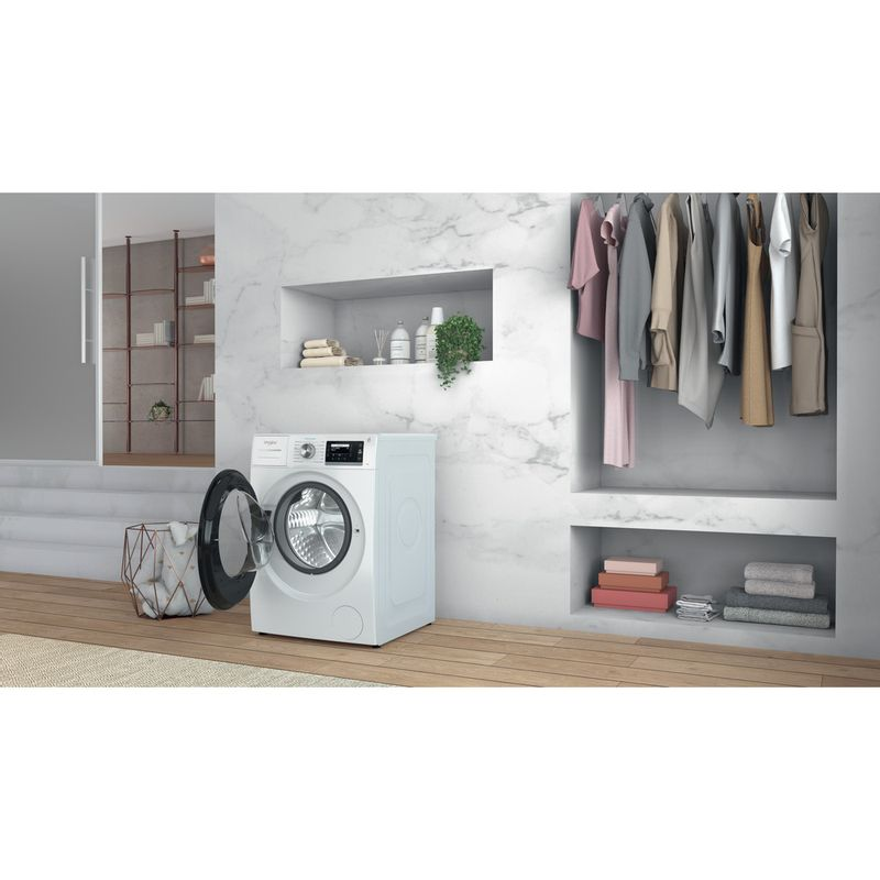 Whirlpool-Lave-linge-Pose-libre-W6-W945WB-FR-Blanc-Lave-linge-frontal-B-Lifestyle-perspective-open