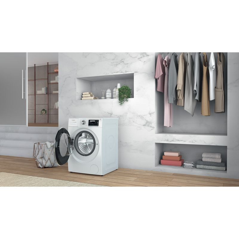 Whirlpool-Lave-linge-Pose-libre-W6X-W845WR-FR-Blanc-Lave-linge-frontal-B-Lifestyle-perspective-open