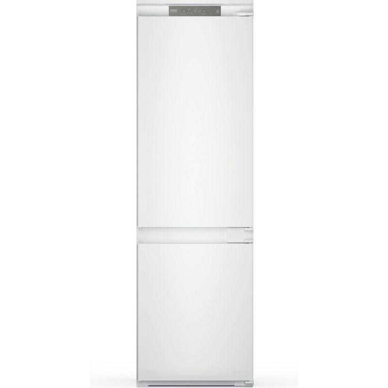 Whirlpool-Combine-refrigerateur-congelateur-Encastrable-WHC18-T332-P-Blanc-2-portes-Frontal
