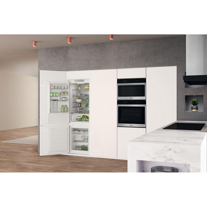 Whirlpool-Combine-refrigerateur-congelateur-Encastrable-WHC18-T332-P-Blanc-2-portes-Lifestyle-perspective-open