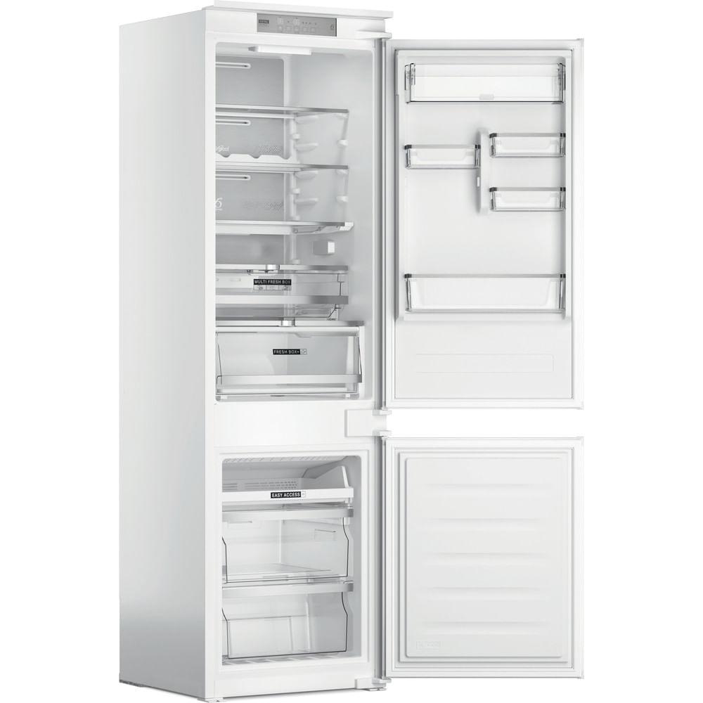 Whirlpool Réfrigérateur congélateur encastrable WHC18 T574 P : consultez les spécificités de votre appareil et découvrez toutes ses fonctions innovantes pour votre famille et votre maison.