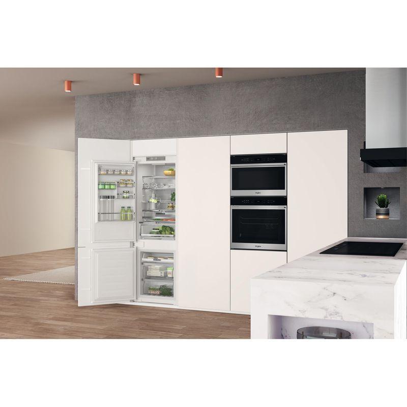 Whirlpool-Combine-refrigerateur-congelateur-Encastrable-WHC18-T574-P-Blanc-2-portes-Lifestyle-perspective-open