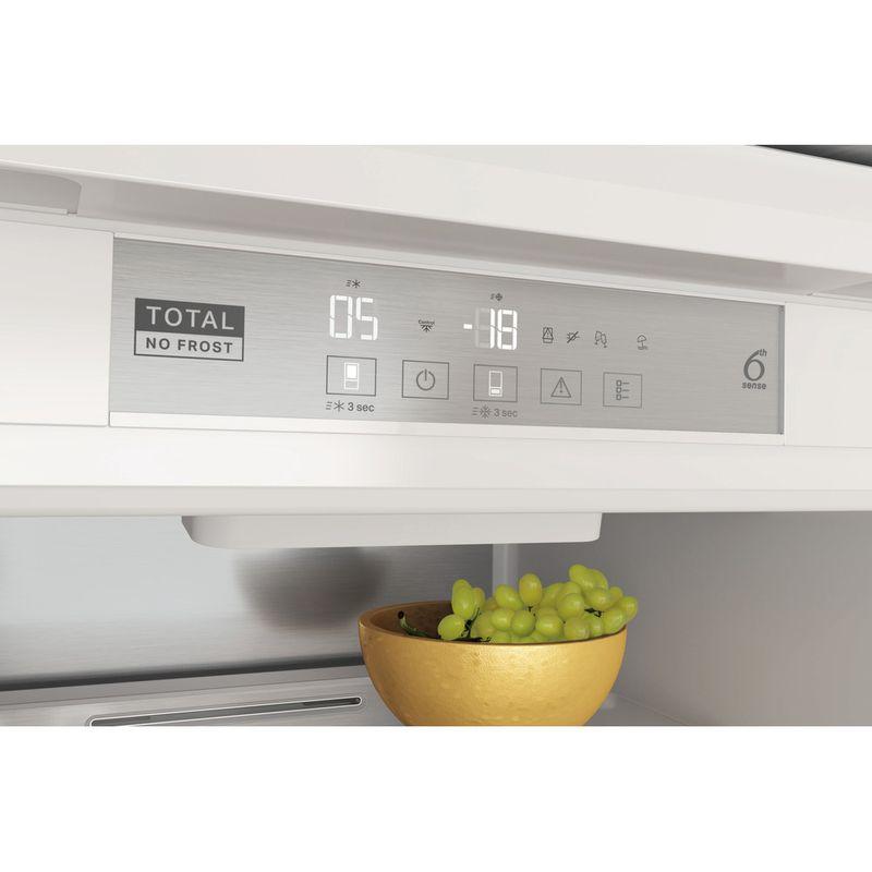 Whirlpool-Combine-refrigerateur-congelateur-Encastrable-WHC18-T574-P-Blanc-2-portes-Control-panel