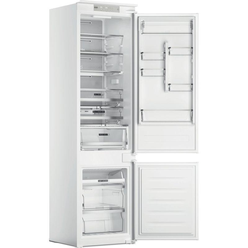 Whirlpool-Combine-refrigerateur-congelateur-Encastrable-WHC20-T573-P-Blanc-2-portes-Perspective-open