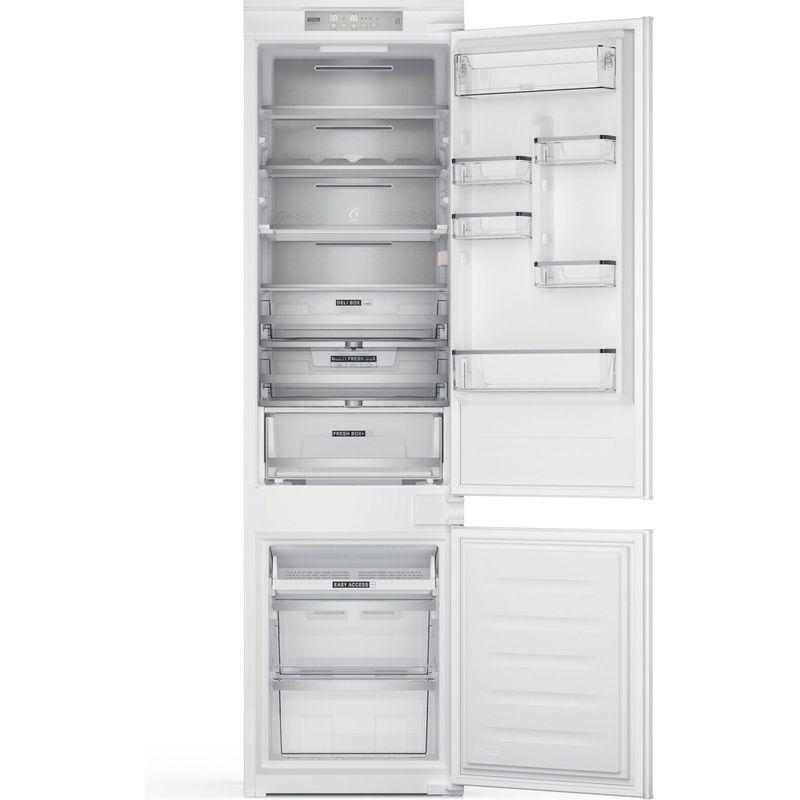 Whirlpool-Combine-refrigerateur-congelateur-Encastrable-WHC20-T573-P-Blanc-2-portes-Frontal-open