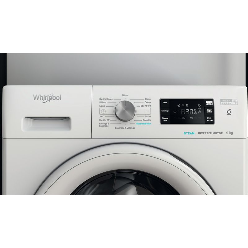 Whirlpool-Lave-linge-Pose-libre-FFBS-9458-WV-FR-Blanc-Lave-linge-frontal-B-Lifestyle-control-panel