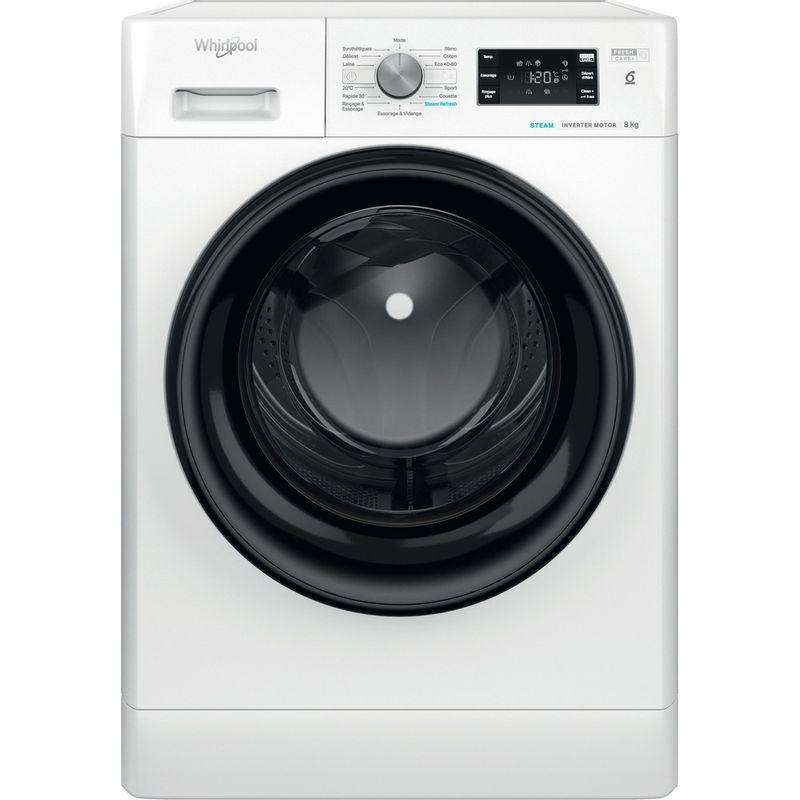Whirlpool-Lave-linge-Pose-libre-FFB-8458-BV-FR-Blanc-Lave-linge-frontal-B-Frontal