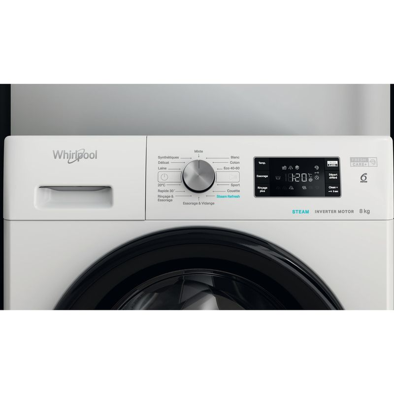 Whirlpool-Lave-linge-Pose-libre-FFB-8458-BV-FR-Blanc-Lave-linge-frontal-B-Lifestyle-control-panel