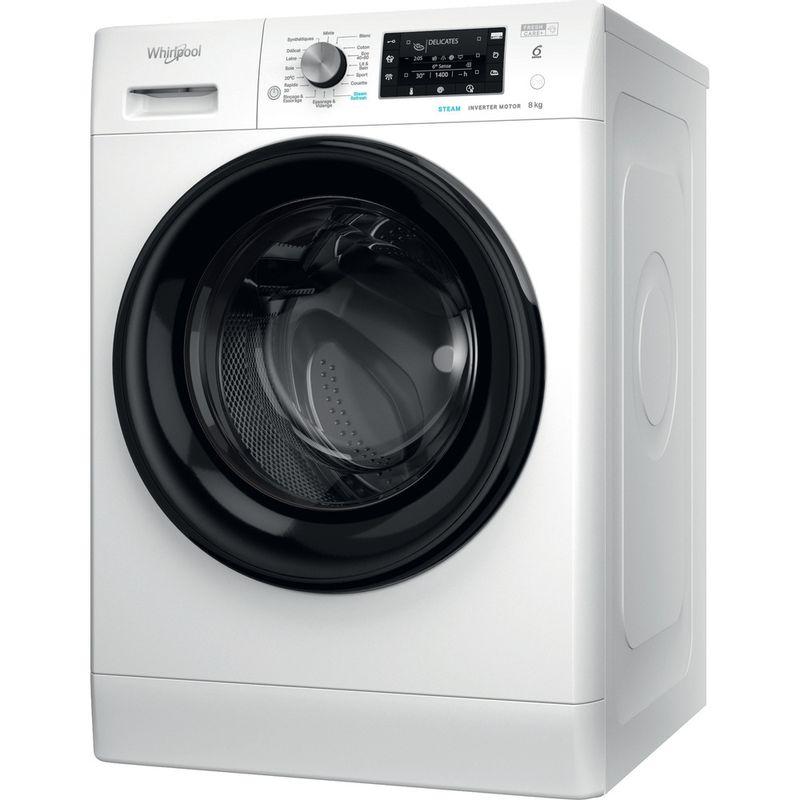 Whirlpool-Lave-linge-Pose-libre-FFD-8458-BV-FR-Blanc-Lave-linge-frontal-B-Perspective