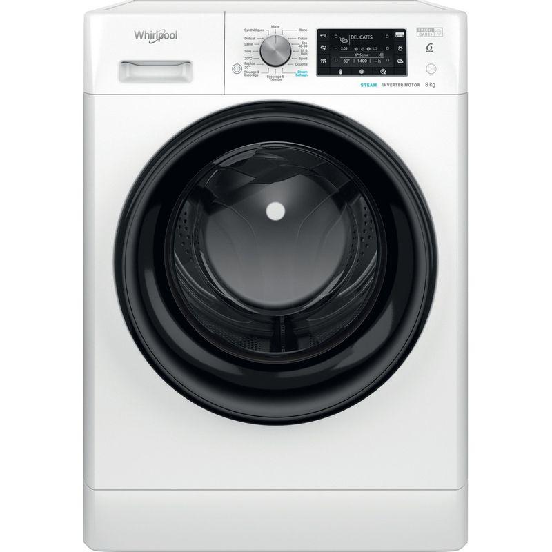 Whirlpool-Lave-linge-Pose-libre-FFD-8458-BV-FR-Blanc-Lave-linge-frontal-B-Frontal