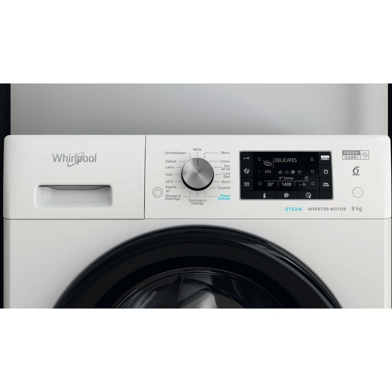 Whirlpool-Lave-linge-Pose-libre-FFD-8458-BV-FR-Blanc-Lave-linge-frontal-B-Lifestyle-control-panel