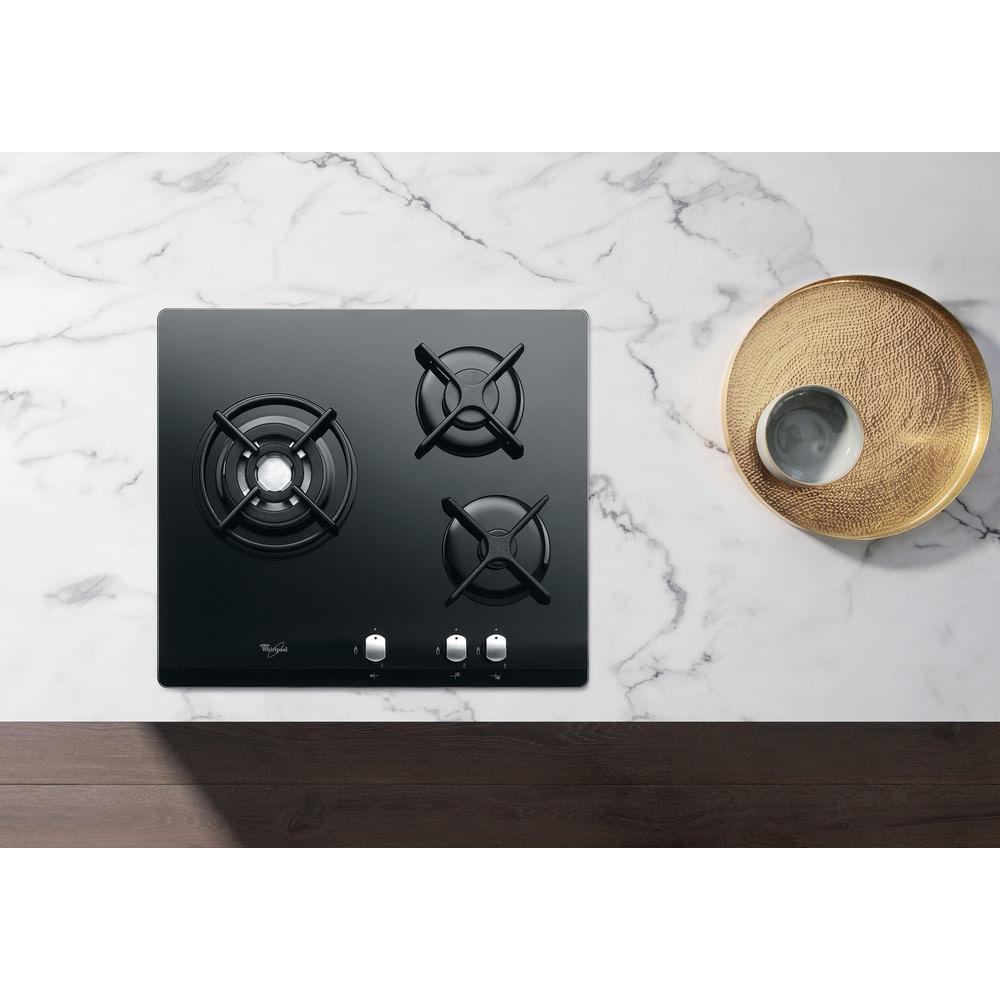 Whirlpool Gazinière AKT 404/NB : consultez les spécificités de votre appareil et découvrez toutes ses fonctions innovantes pour votre famille et votre maison.