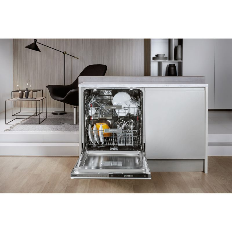 Whirlpool-Lave-vaisselle-Encastrable-WIP-4O32-PT-Tout-integrable-A----Lifestyle-frontal-open