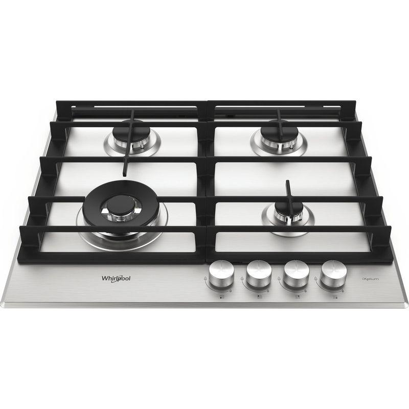 Whirlpool-Table-de-cuisson-GMW-6422-IXL-FR-Inox-Ixelium-Gaz-Frontal-top-down