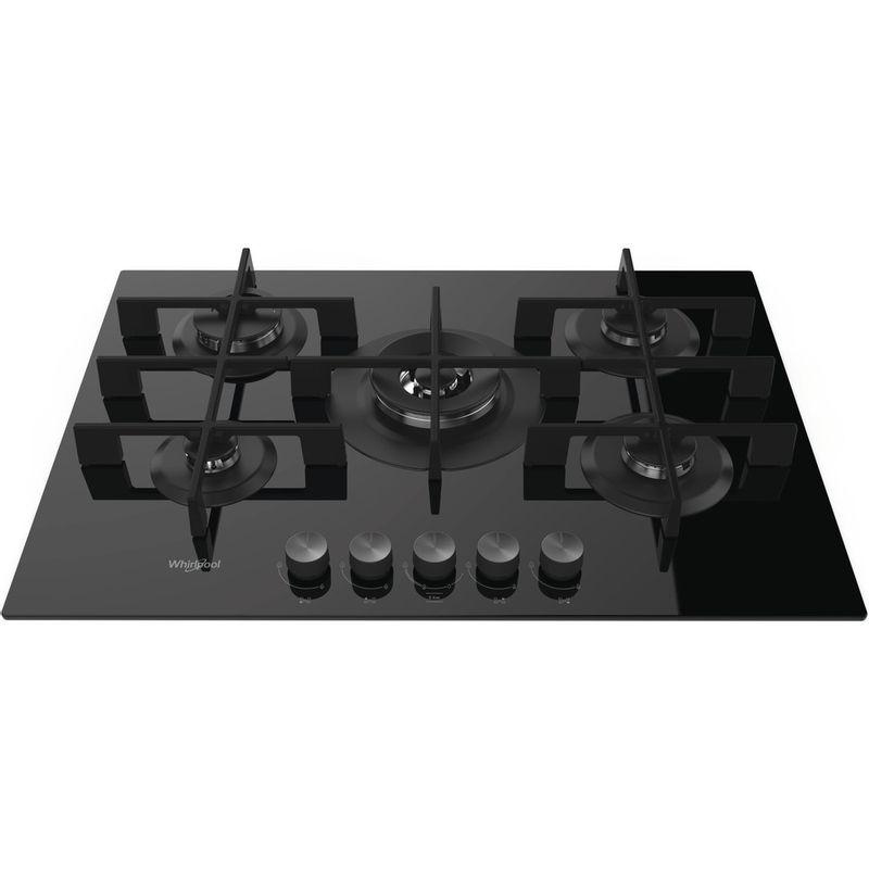 Whirlpool-Table-de-cuisson-GOW-7553-NB-FR-Noir-Gaz-Frontal-top-down