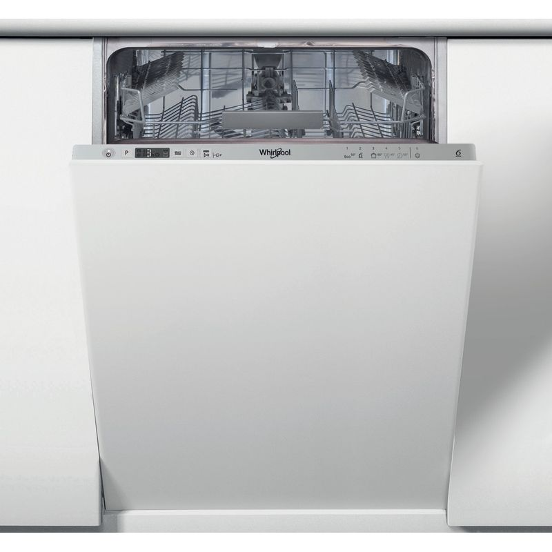 Whirlpool-Lave-vaisselle-Encastrable-WSIC-3M17-Tout-integrable-A--Frontal