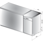 Whirlpool-Lave-vaisselle-Pose-libre-WSFP-4O23-PF-X-Pose-libre-A---Technical-drawing
