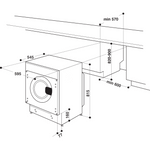 Whirlpool-Lave-linge-Encastrable-BI-WMWG-71284-FR-Blanc-Lave-linge-frontal-A----Technical-drawing
