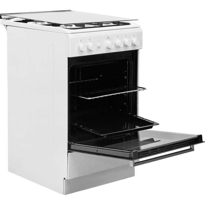 Whirlpool-Cuisiniere-WS5G1PMW-E-Blanc-Gaz-Perspective-open