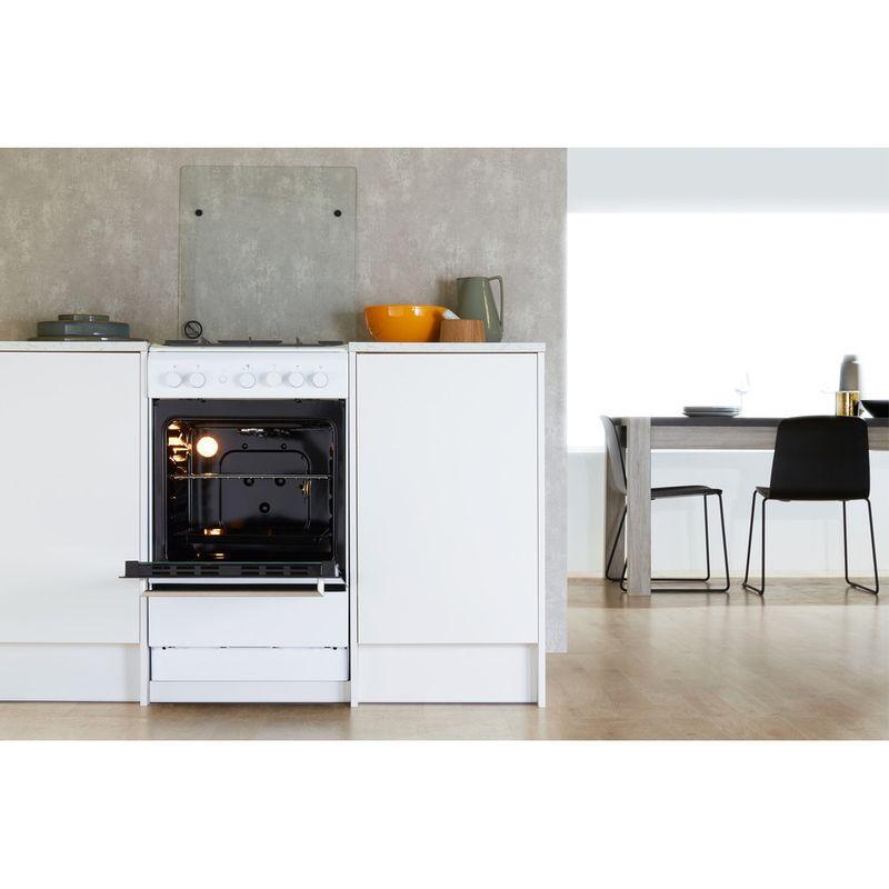Whirlpool-Cuisiniere-WS5G1PMW-E-Blanc-Gaz-Lifestyle-frontal-open