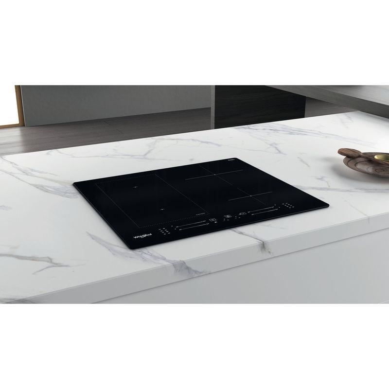 Whirlpool-Table-de-cuisson-WL-S7960-NE-Noir-Induction-vitroceramic-Lifestyle-perspective